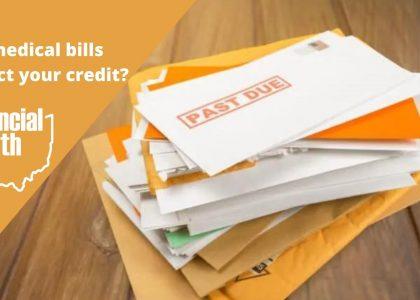 do medical bills affect your credit